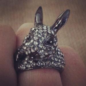 Black Rabbit Ring